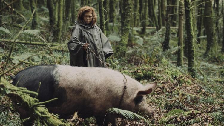 Lea Seydoux spiller opprørsleder i skogen i The Lobster (Foto: Festival de Cannes).