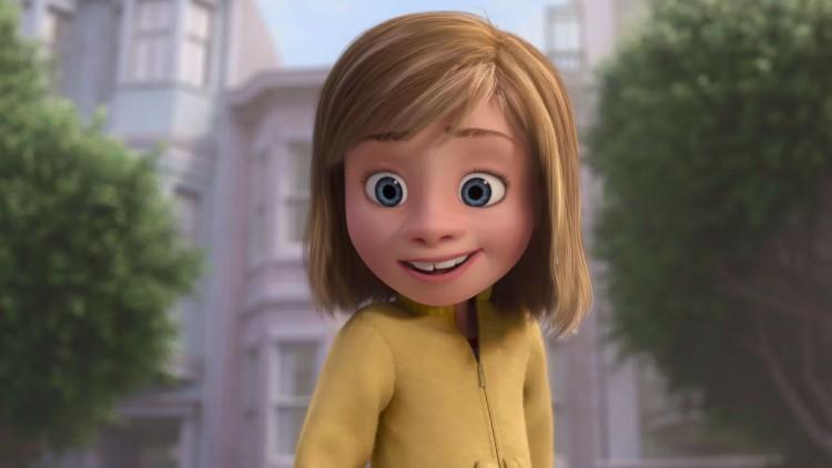«Innsiden Ut» tar oss med til innsiden av hodet på lille Riley. (Foto: The Walt Disney Company Nordic).