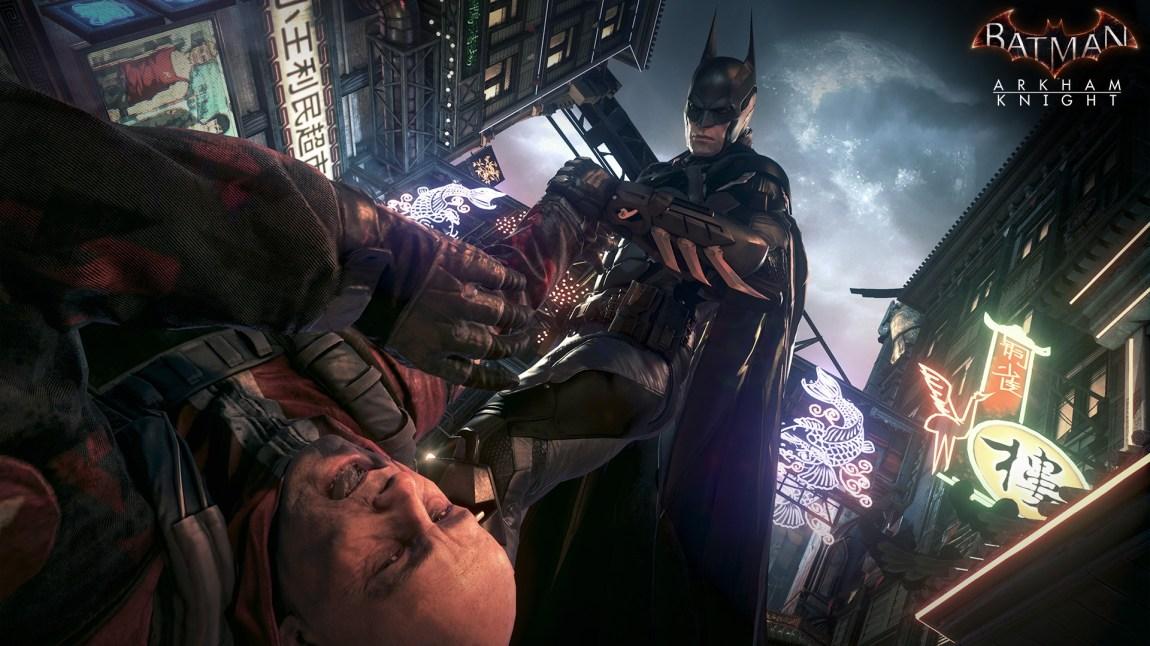 Batman har ingen problemer med å knekke noen håndledd for å få vilja si.