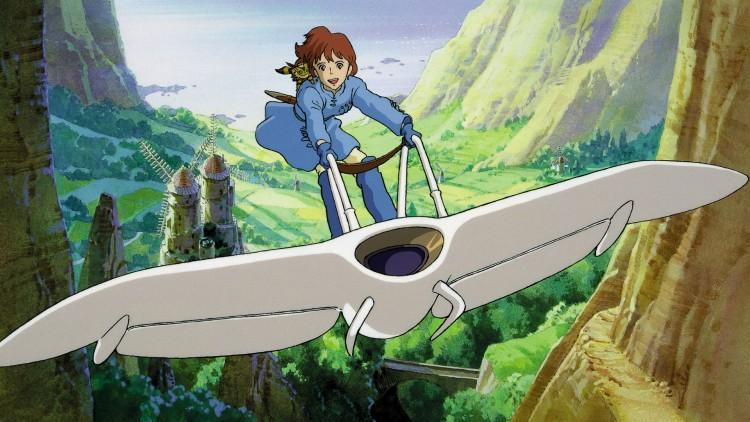 «Kaze no tani no Naushika», eller «Nausicaä - Prinsessen fra Vindens Dal», som er den norske tittelen, er en postapokalyptisk film som, med vakker animasjon og et stemningfullt lydspor, skaper et spennende univers som bergtar deg fra første stund.(Foto: ORO Film).