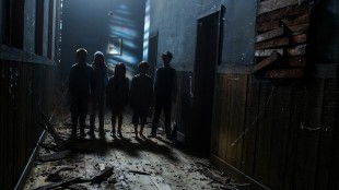 Barna i Sinister 2 blir dessverre ikke så mye skumlere enn på dette bildet. (Foto: Norsk Filmdistribusjon)