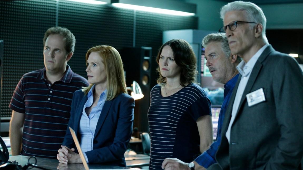 Gamle og nye CSI-krefter forenes i jakten på en en hevngjerrig sprengstoffsekspert. (Foto: SBS Discovery)