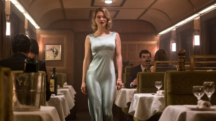 Léa Seydoux spiller Madeleine Swann i James Bond: Spectre (Foto. SF Norge AS).