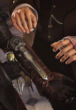 Du får en ny type gripekrok på hansken din i spillet. (Foto: Ubisoft).