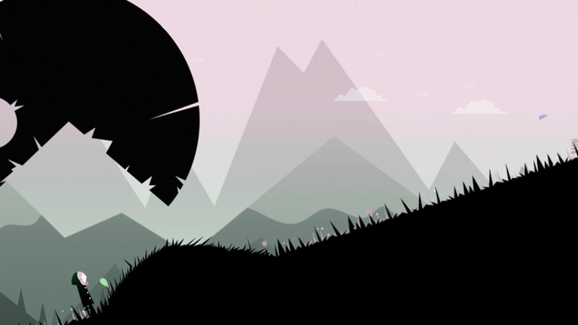 """I """"Balls & Holes, er det om å gjøre å unngå både baller og hull. Målet er å rusle oppover fjellsiden uten å bli brutalt skviset eller falle dypt. (Foto: Skjermdump, Planet of the Apps LTD)"""