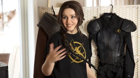Ida Vesterelv er cosplayer og stor fan av The Hunger Games-filmene. (Foto: Martin Aas, NRK P3).