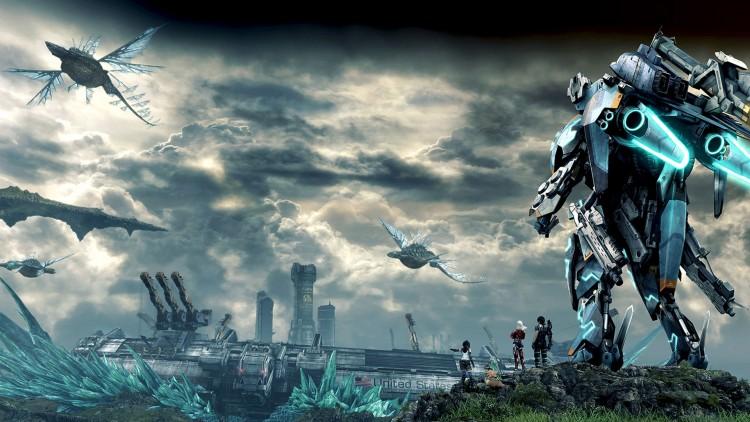 Forgjengeren var ren fantasy, men Xenoblade Chronicles X beveger seg i Sci-fi-land, med gigantiske Skell-drakter og det hele. (Foto: Nintendo / MONOLITHSOFT).