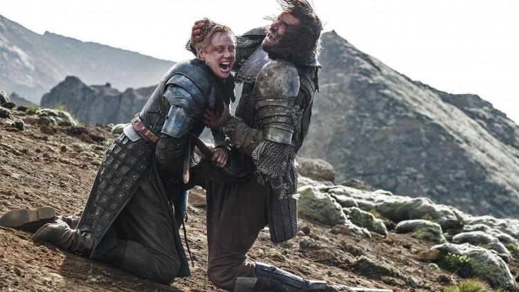 Gwendoline Christie er rå som Brienne i Game of Thrones. (Foto: HBO Nordic).