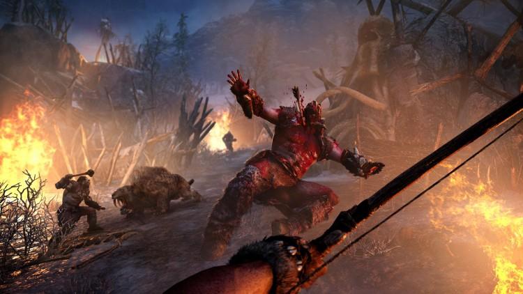 Det handler om kampen for å overleve Far Cry primal. (Foto: Ubisoft).