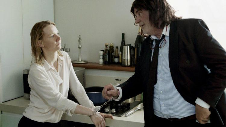 Sonja Hüller og Peter Simonischek i Toni Erdmann (Foto: Festival de Cannes).