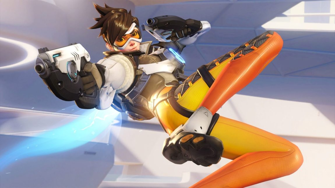 Tracer i Overwatch. (Foto: Blizzard).