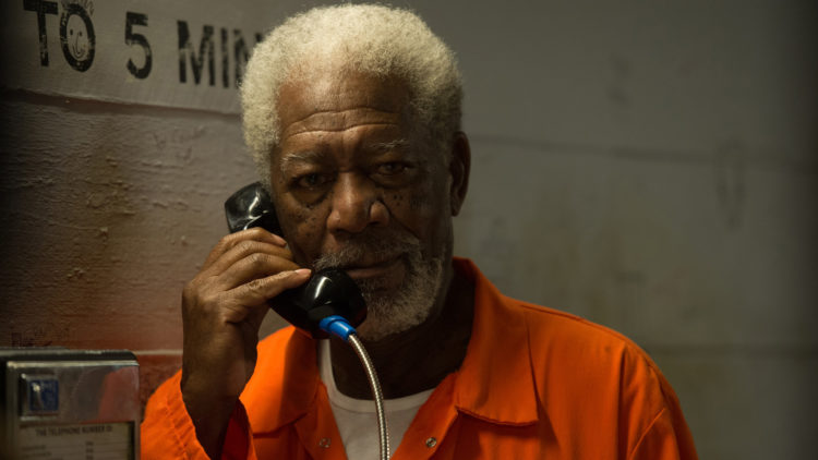 Morgan Freeman spiller nok en gang Thaddeus i Now You See Me 2. (Foto: Jay Maidment/Summit Entertainment vis AP)