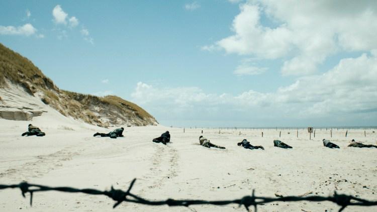 Mineryddingen foregår i vakre omgivelser på Jyllands vestkyst i Under sanden (Foto: Tour de Force).