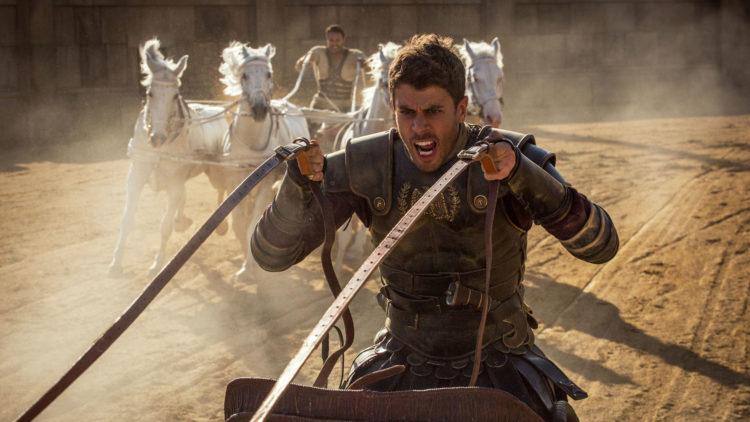 Toby Kebbel spiller Judah Ben-Hurs romerske adoptivbror Messala i Ben-Hur (Foto: SF Norge).
