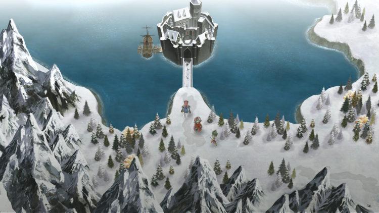 En flik av oververdenen i I am Setsuna. (Foto: Square Enix).