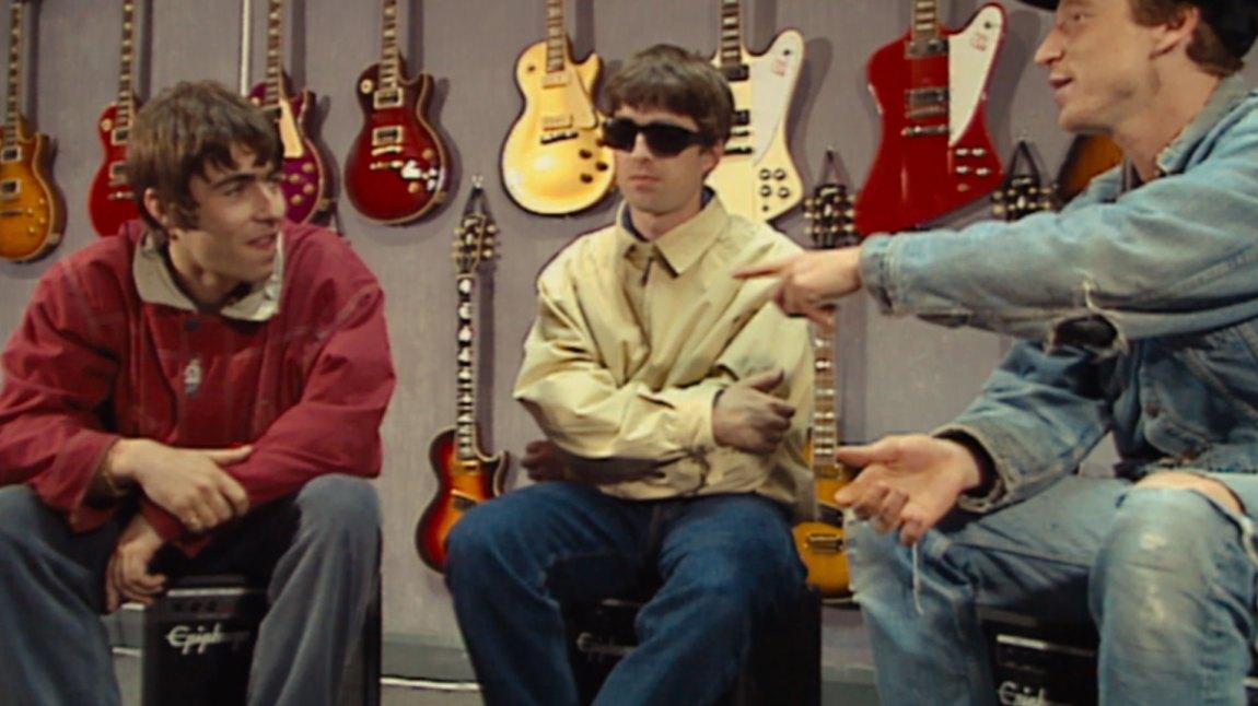 Supersonic er vel så mye en dokumentar om brødrene Gallagher som en dokumentar om Oasis sin plass i musikkhistorien. (Foto: Norsk Filmdistribusjon / Fuji TV)