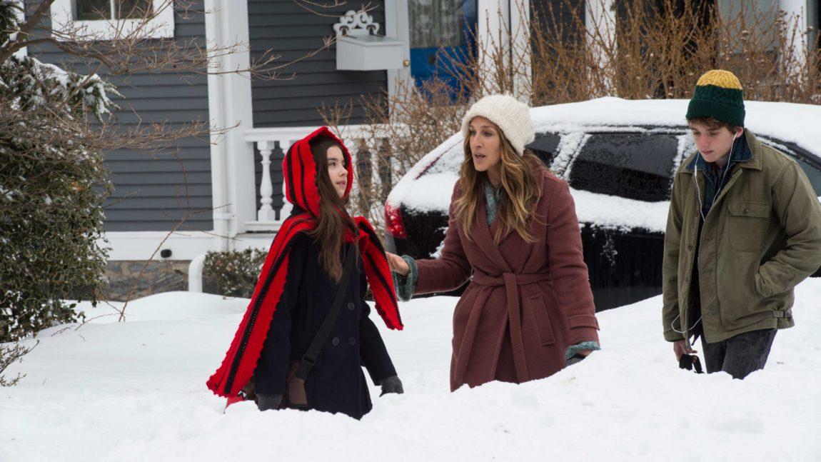 Sarah Jessica Parker og Sterling Jerins som spiller datteren hennes i Divorce. (Foto: HBO Nordic).