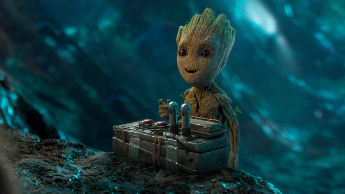 Groot vokser til i Guardians of the Galaxy Vol. 2. (Foto: Marvel, The Walt Disney Company Nordic).
