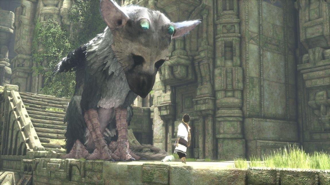 Trico er en blanding av hund, katt og fugl. (Foto: Sony Computer Entertainment).