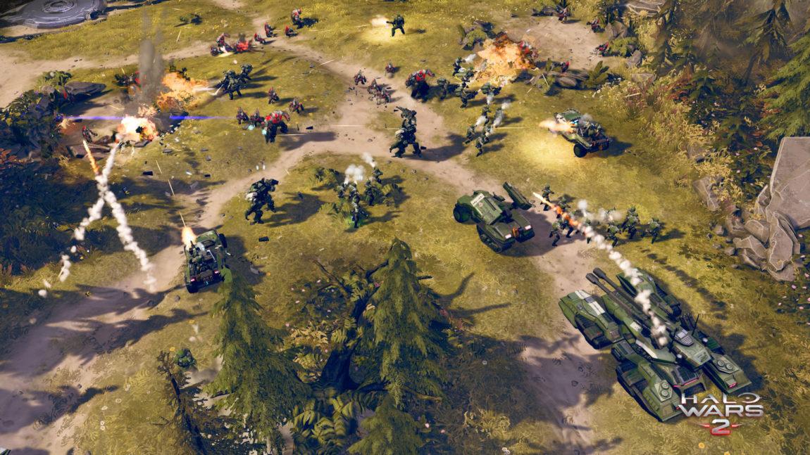 Spillet gir deg mulighet til å leke med mange kjente units fra Halo-universet. (Foto: Microsoft Studios).