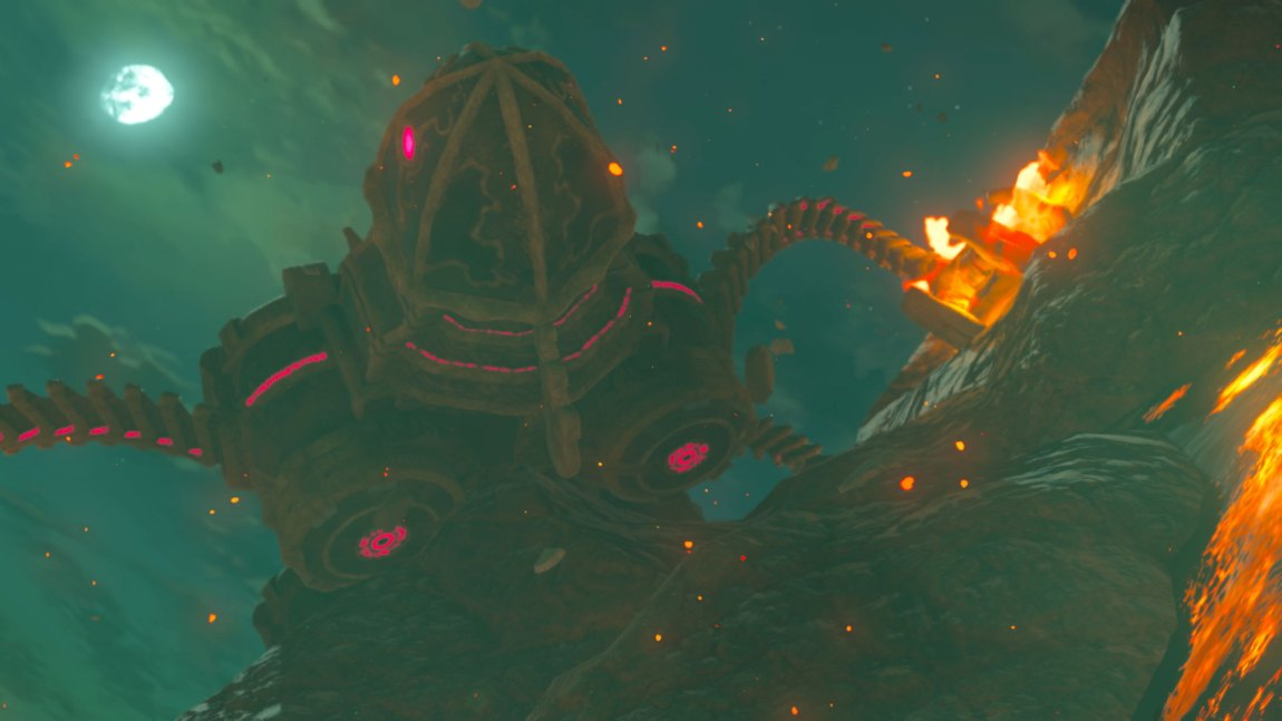 Du møter på mange tøffe fiender i The Legend of Zelda: Breath of the Wild. (Foto: Nintendo).