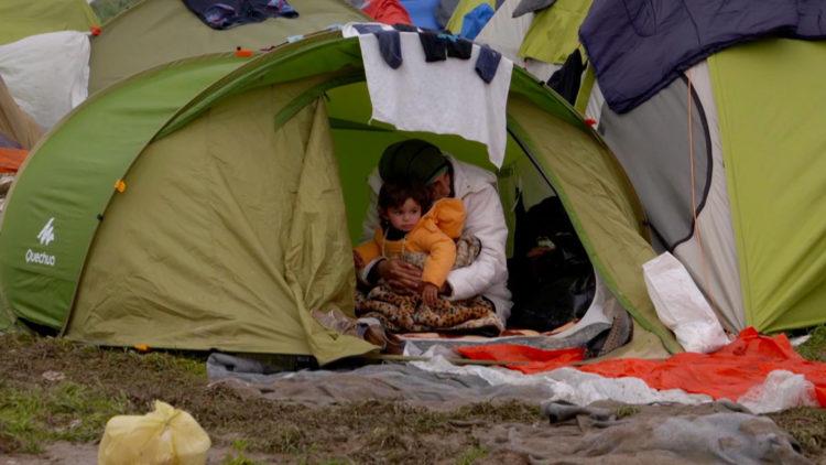 """Den beryktede, og nå revne, leiren kalt """"Jungelen"""" i Calais blir besøkt i """"Sea Sorrow"""". (Foto: Festival de Cannes)"""