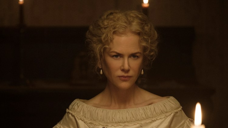 "Nicole Kidman i nesten naturlig lys i ""The Beguiled"" (Foto: Focus Features)"