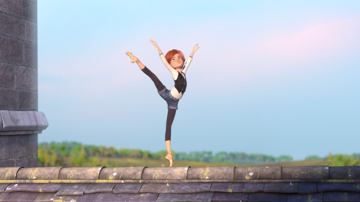 Dans på taket av barnehjemmet. (Foto: Selmer Media)