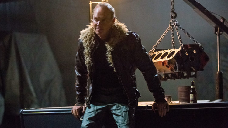Michael Keaton spiller Vulture i Spider-Man: Homecoming. (Foto: United International Pictures).