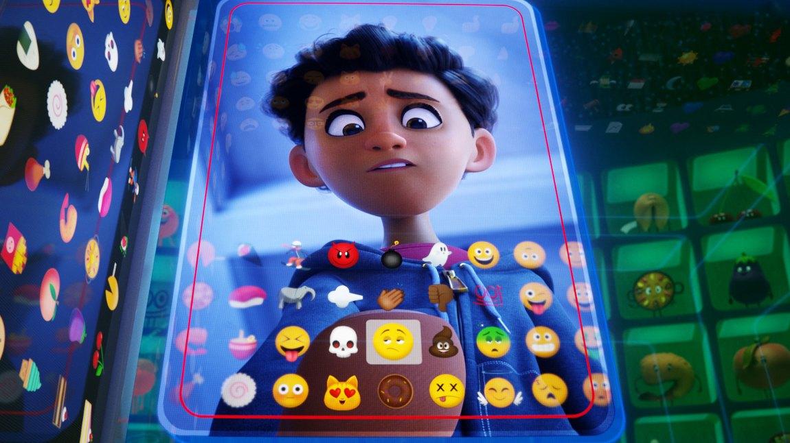 Alex er eier av telefonuniverset som Emojifilmen foregår i.(Foto: United International Pictures)