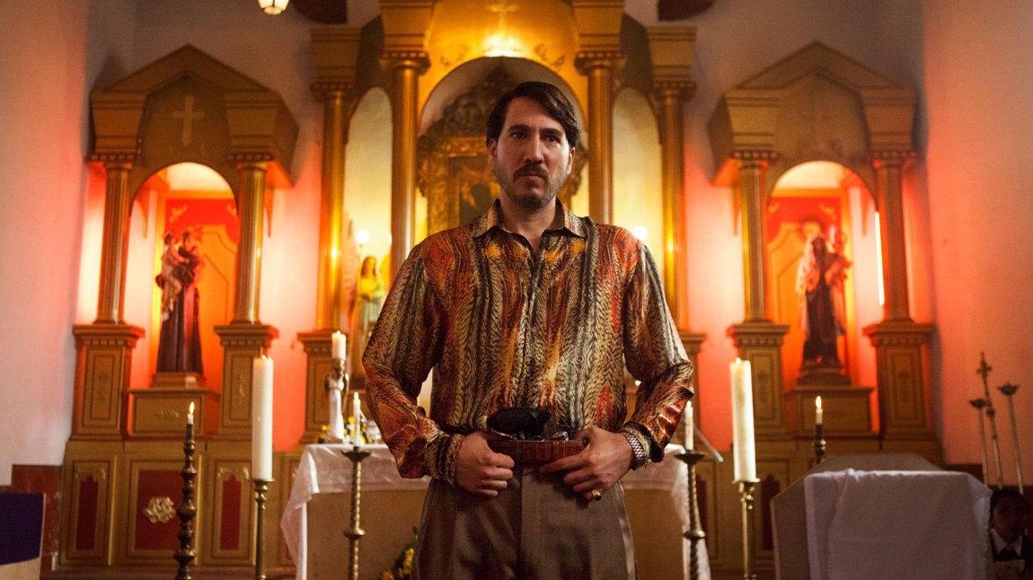 Pacho Herrera (Alberto Ammann) tar steget opp som en av de sentrale spillerne etter at Pablo Escobar er borte. (Foto: Netflix)