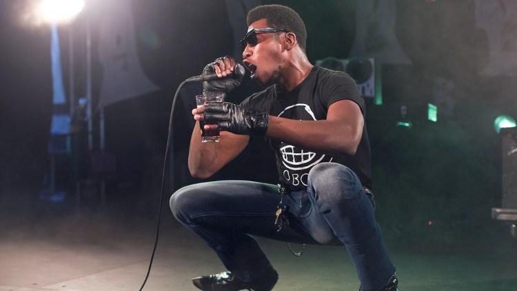 Willis Earl Beal på Klubben - Øyafestivalen 2012. (Foto: Rashid Akrim, NRK P3)