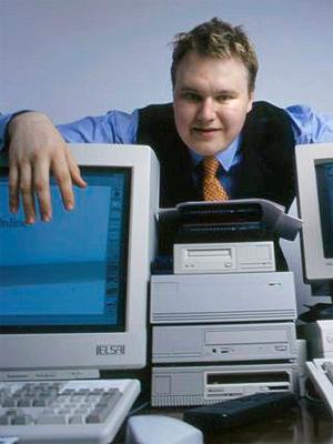 Kim Dotcom er datagründeren som slo seg opp på 90-tallet gjennom flere mer eller mindre tvilsomme forretninger. Nå står han bak den kommende tjenesten Megabox. Foto: Andreas Bohnenstengel / Wikimedia Commons.