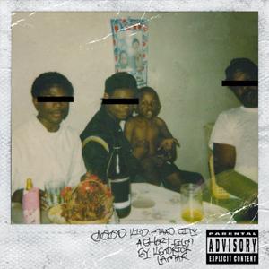 """good kid, m.A.A.d city""-omslaget. (Foto: Promo)"