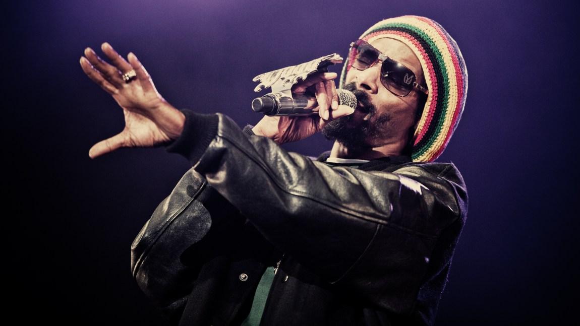 Snoop Dogg under hovefestivalen (Foto: Kim Erlandsen, NRK P3).