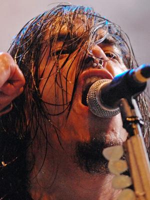 Robert Flynn, vokalist i Machine Head. (Foto: NTB Scanpix, AFP, Michael Gottschalk)