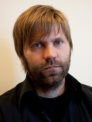 Jonas Prangrød er festivalsjef for Øyafstivalen. Foto: Hallina Sjuve.