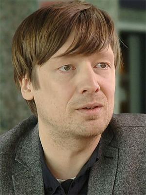 Gaute Drevdal, presseansvarlig for Hovefestivalen. (Foto: NRK)