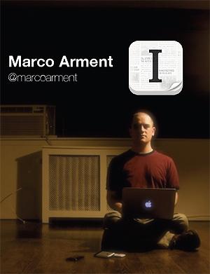 Marco Arment startet mikrofirmaet Instapapter, med stor suksess. Illustrasjon. Making Waves.