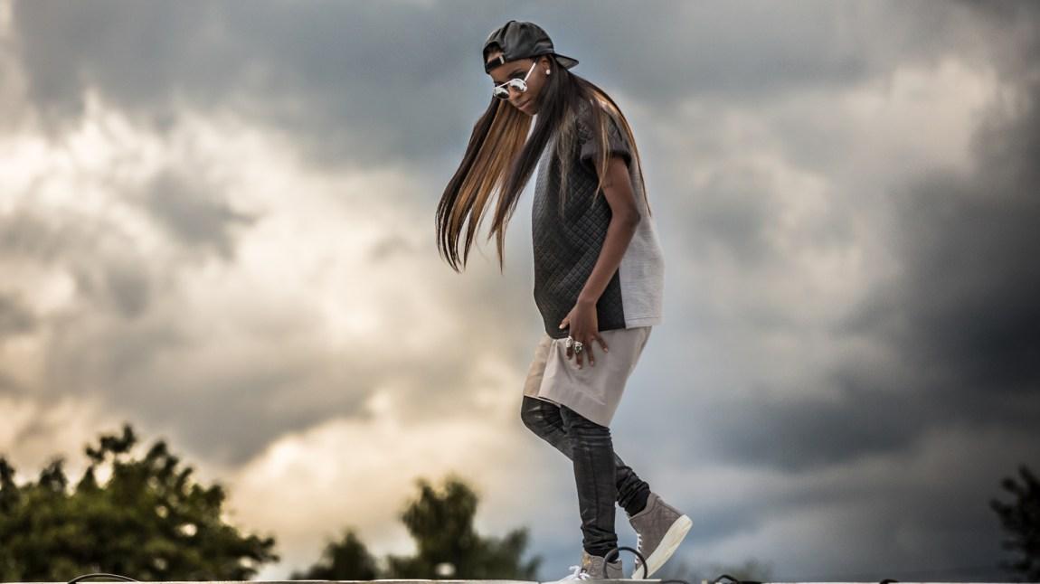 Rapperen Angel Haze på Øya 2013. (Foto: Mattis Folkestad, NRK P3)
