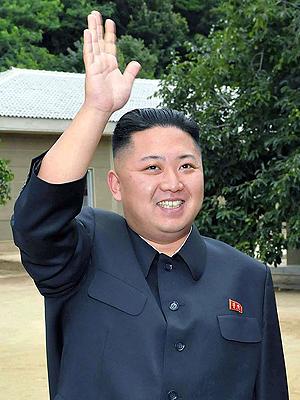 Skal Nord-Korea, her representert ved diktator Kim Jong-Un, bli redningen for The Pirate Bay? Foto: NTB Scanpix / AFP Photo.