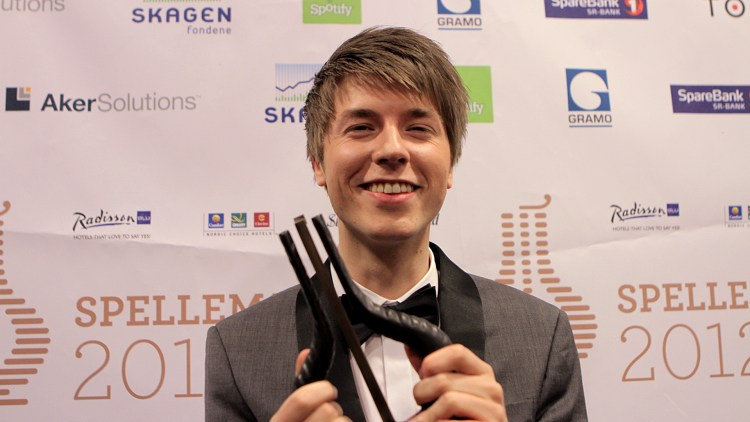 LidoLido vant prisen for Årets nykommer under Spellemannprisen. (Foto: Katrine Opdahl, NRK P3)