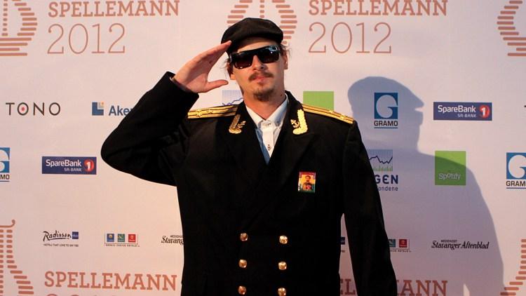 Admiral P gledet seg stort over sin egen nominasjon i kategorien Årets hit. (Foto: Katrine Opdahl, NRK P3)