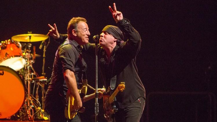 Bruce Springsteen på Telenor Arena. Foto: Per Ole Hagen, NRK
