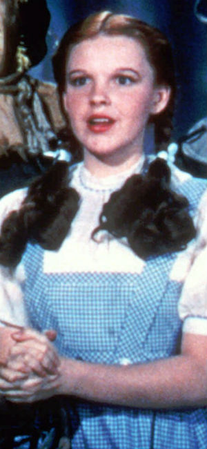 "Judy Garland i en scene i ""The Wizard of Oz"". (Foto: NTB Scanpix, AP)"