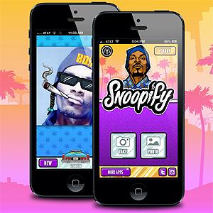 I applikasjonen Snoopify kan du «snoopifisere» dine egne bilder. Foto: Promo.