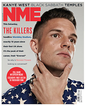 Brandon Flowers og The Killers snakker ut i siste utgave av NEM. Foto: Promo.