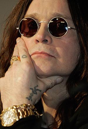 Ozzy fikk ikke viljen sin da det gjaldt trommis på det nye Black Sabbath-albumet 13. Foto: NTB Scanpix / Hector Mata, AFP Photo.