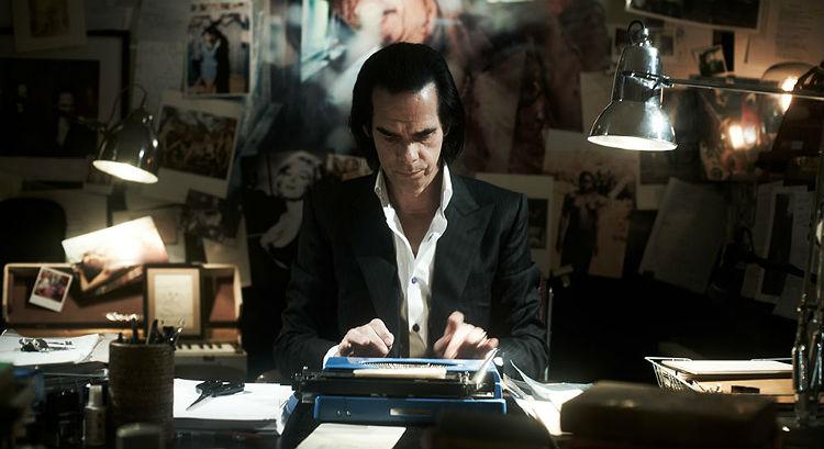 Nick Cave i en scene fra den kommende dramadokumentaren 20.000 Days on Earth. Foto: Promo.