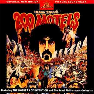 200 Motels-albumet som kom ut i 1971. Foto: Promo.
